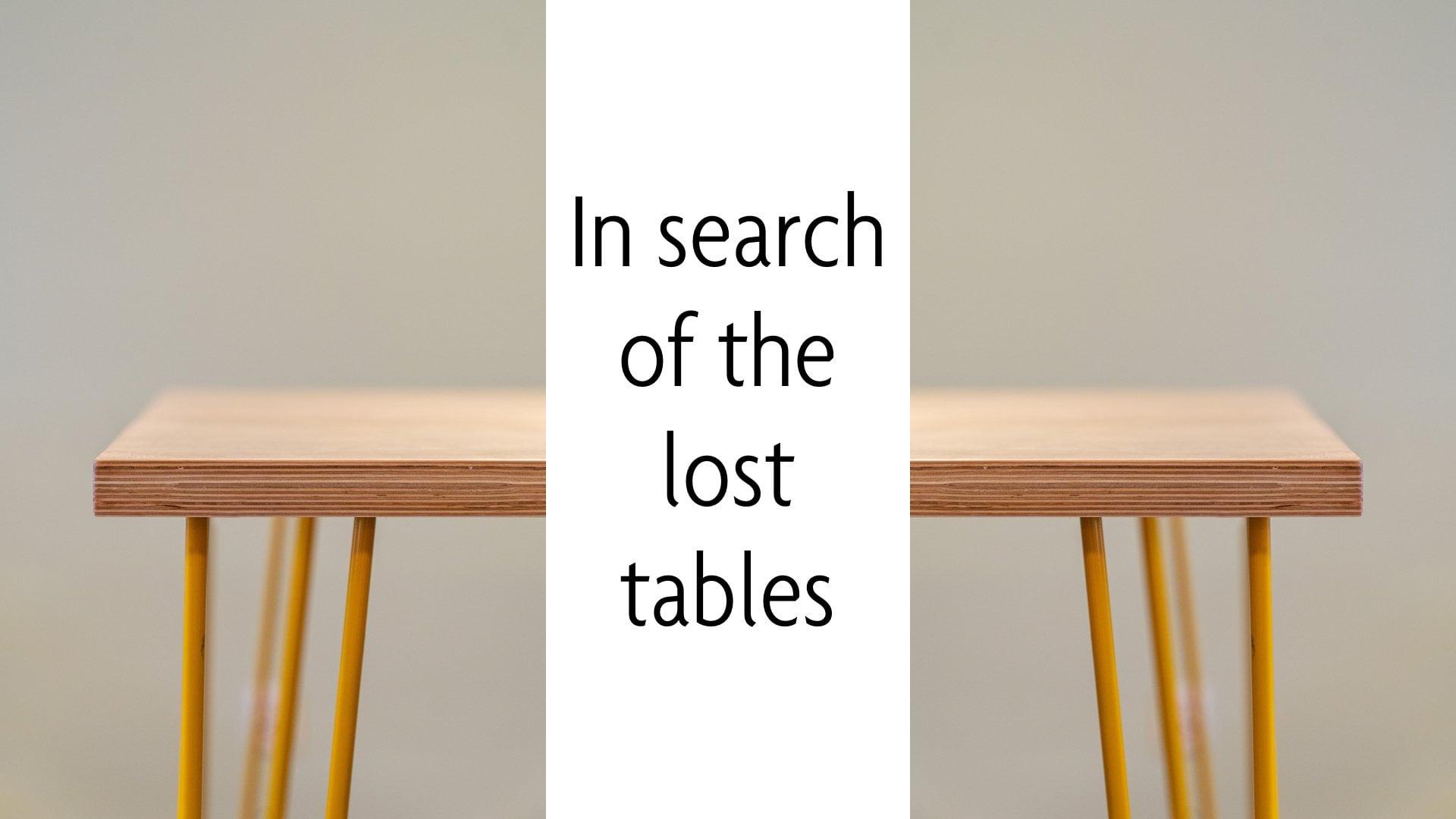 Looking for lost tables - PrestaShop