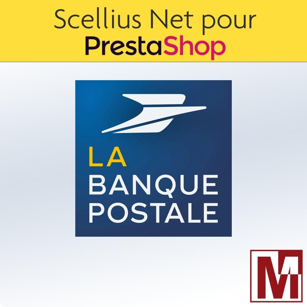 Scellius Net de La Banque Postale pour PrestaShop