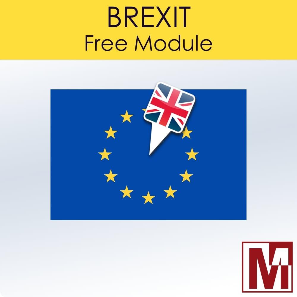 Module gratuit concernant le Brexit sur les commandes faite sur PrestaShop et Thirtybees