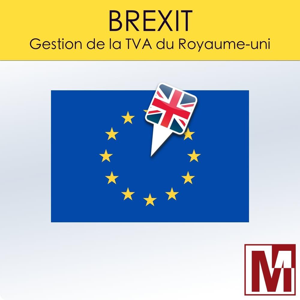Version 1.7.2 du module PrestaShop Brexit Gestion TVA Royaume-Uni