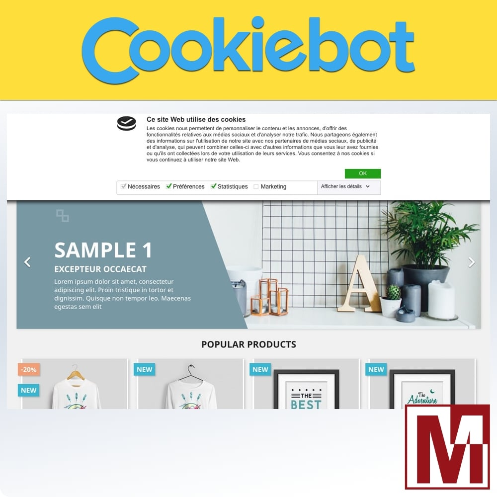 Module Cookiebot Mediacom87
