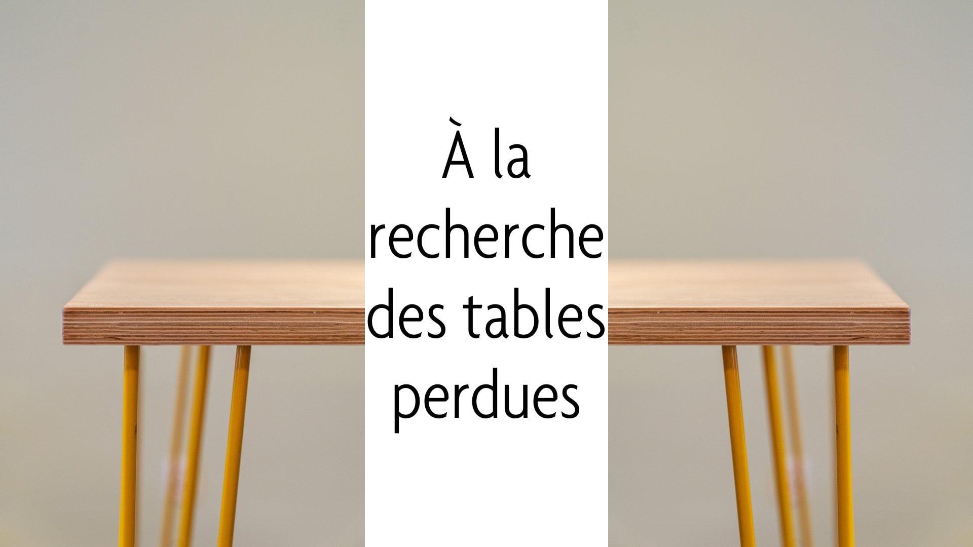 À la recherche des tables perdues - PrestaShop