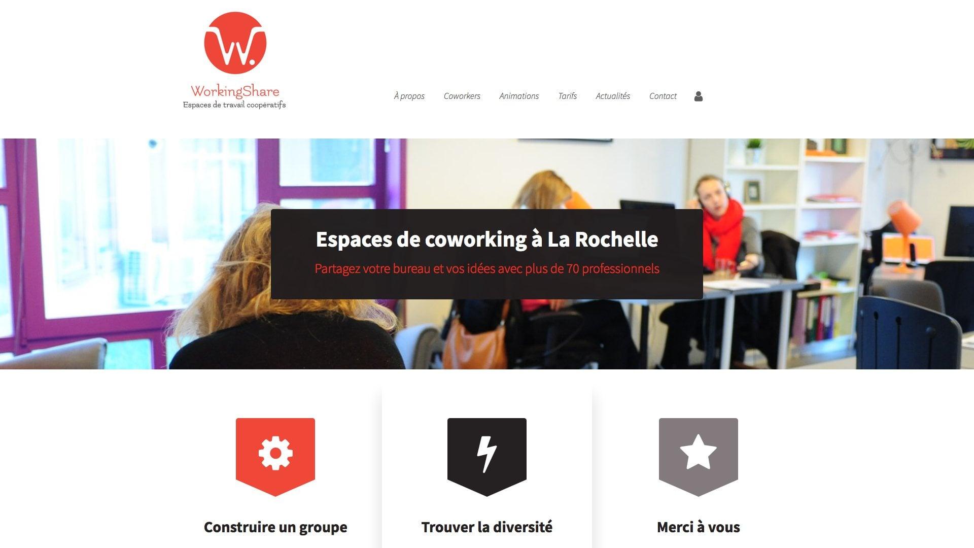 La rochelle Coworking - WorkingShare