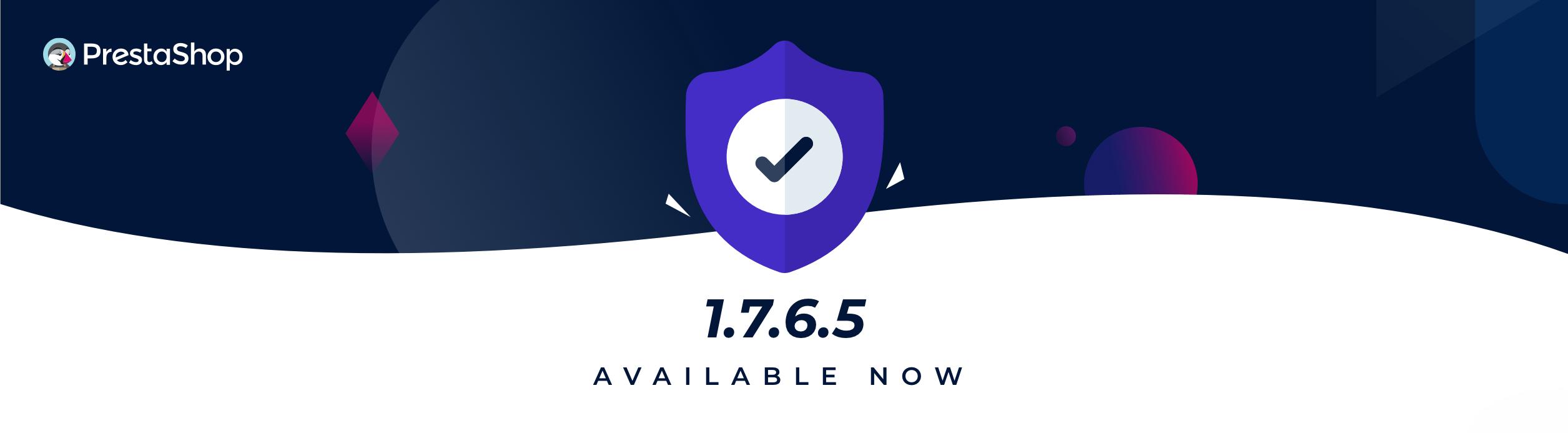 Version 1.7.6.5 de PrestaShop